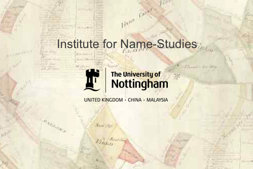 Institute for name-studies